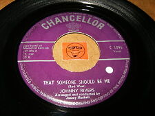 JOHNNY RIVERS - THAT SOMEONE SHOULD BE ME - BLUE SKIES   / LISTEN - TEEN POPCORN