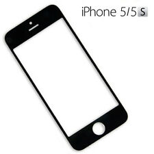 CRISTAL PARA PANTALLA TACTIL DIGITALIZADOR LCD APPLE IPHONE 5 5S 5C NEGRO