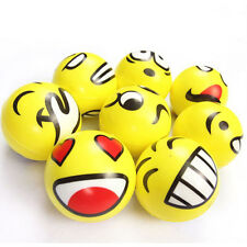 Smiley Face Anti Stress Reliever Ball ADHD Autism Mood Toy Squeeze Relief HU