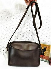 Vintage Authentic - COACH Legacy - Rich Dark Brown Leather-Crossbody