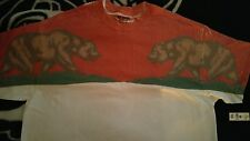 Gildan dry blend Mens xl shirt top bear red white green t-shirt