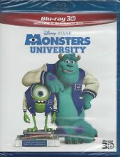 2 Blu-ray Disney Pixar **MONSTERS UNIVERSITY** Edizione Speciale 3D + 2D 2013