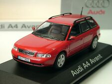 Minichamps AUDI a4 avant, rouge, dealers MODEL - 1/43