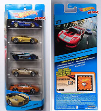 Hot Wheels 2014 WORLD RACE 5 PACK LAMBORGHINI COUNTACH,REVENTON,MAZDA FURAI