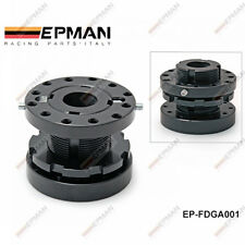 EPMAN UNIVERSAL ADJUSTABLE STEERING WHEEL ALLOY SPACER BOSS HUB KIT 40MM TO 70MM