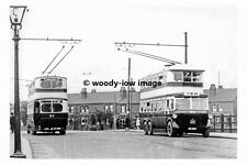 pt8504 - 1st Trolleybuses on Balby Road , Doncaster , Yorkshire - photograph 6x4
