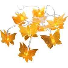 Lichterkette Schmetterling 10 Lichter butterfly Licht Lampen Deko NEU&OVP!!!