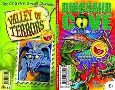Dinosaur Cove: Battle of the Giants/The Charlie Small Journals: Valley of...