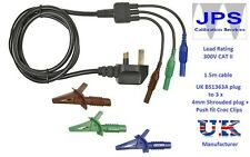 PAT Test Adaptor Hard-Wired Appliances without plugs JPSS026d