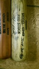 Adrian Beltre CAREER HOMERUN #1 GAME USED BAT. SIGNED& INSCRIBED JUNE 30, 1998