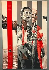 Martin Ansin LOOPER Silver Edition Mondo Movie Print Poster