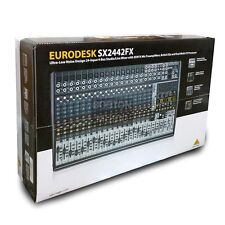 Behringer Eurodesk SX2442FX Mixing Board Recording Console w/ Multi-Effects