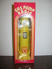 1985  SHELL  GAS  PUMP  RADIO - 1930'S  STYLE  AUTHENTIC  REPLICA  w/ ORIG. BOX
