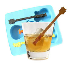 Creative Guitar Shaped Ice Cube Jelly Candy Mold Chocolate Cake Mould Tray Gift