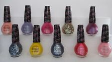 9 Lot Nicole by OPI Selena Gomez Nail Polish~ Full size Bottles