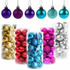 40mm Christmas Tree Decorations Xmas Balls Baubles For Party Wedding Ornament