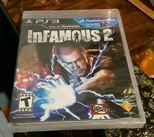 INFAMOUS 2 ORIGINAL BLACK LABEL PS3 US RETAIL GAME FACTORY SEALED BRAND NEW