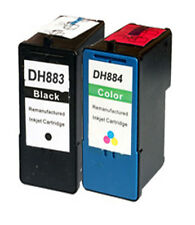Non-OEM For Dell a968 Ink Cartridges 7 Series BlK+Color