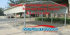 LARGE STEEL Carport Shelter 6x7.3x3.9M Yard, Backyard shelter, Portable Carports