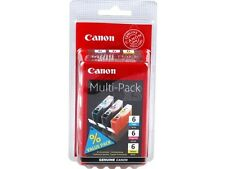 ORIGINALE Canon 3-set bci-6 C M Y ip4000/ip5000/i865/mp750/mp780 Multipack