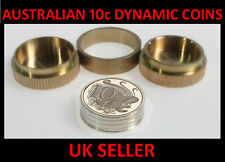 Australian 10cent Dynamic Coins Magic Trick - With Coins & Instructions