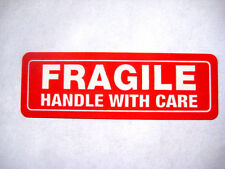 250 1x3 FRAGILE Handle with Care Labels Stickers