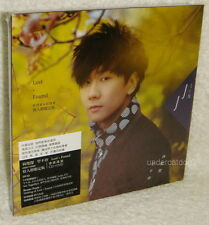 JJ Lin Lost N Found Taiwan CD+DVD+6 Cards Valentine's Day Limited Edition