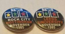 THE CULT LOVE TOUR NOTTINGHAM +LEEDS 1985 BADGES EXCELLENT CONDITION IAN ASTBURY
