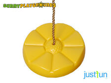 DAISY SWING SEAT YELLOW Playground Set Accessories With Rope Outdoor Fun For Kid