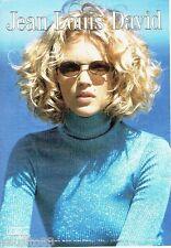 PUBLICITE ADVERTISING 116  2000  Salon coiffure Jean Louis David  & L'Oréal