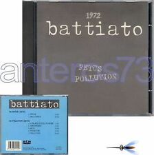 "FRANCO BATTIATO ""FETUS POLLUTION"" CD STAMPA SPAGNOLA"