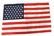 "Vintage 1959 49 Star American Flag Printed Cotton 17"" By 11"" Parade Size Rare"