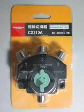 Diamond CX310A 3 Position Coax Antenna Switch 1500W Free Shipping from Japan