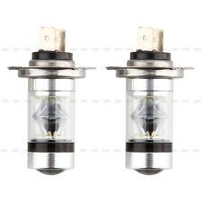 2x H7 6000K 100W Xenon HID kit LED Nebelscheinwerfer Tagfahrlicht Nachrüstsatz