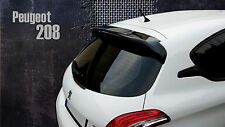 PEUGEOT 208 QUALITY REAR ROOF SPOILER WING NEW