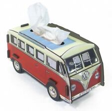Tissue dispenser VW Bus Bulli red/white Facial tissues Box Tissue Werkhaus