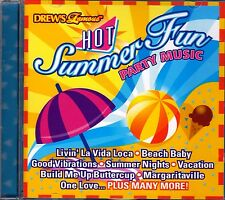 Drew's Famous HOT SUMMER FUN PARTY MUSIC: ISLAND BEACH BBQ & POOL PARTY SONGS CD