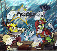 NEOPETS TCG Curse of Maraqua 36 BOOSTER PACKS LOT = BOX code cards!