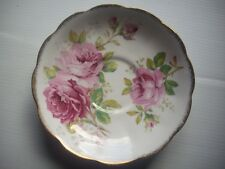 "ROYAL ALBERT - ""American Beauty"" - Saucer - GC - Bone China, England"