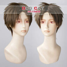 Resident Evil 4 / Leon Scott Kennedy Game Cosplay Party Wig Hair