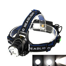 5000Lm CREE XM-L T6 LED Camping Headlamp Headlight Light Head Fishing Lamps