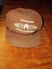 Rare Conrail Railroad CenPennRail Federal Credit Union Hat 1980's