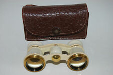 Theater Glasses / Binoculars. Made In The USSR / CCCP. Case. Good Condition. #4