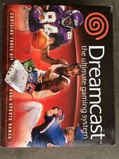 Sega Dreamcast White Console NTSC Sega Sports Factory Sealed Brand New