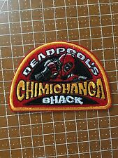 DEADPOOL CHIMICHANGA SHACK IRON-ON PATCH RYAN REYNOLDS MARVEL X-MEN