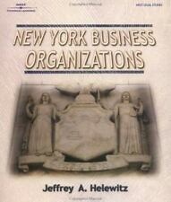 NEW YORK BUSINESS ORGANIZATIONS (The West Legal Studies Series)
