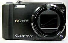 SONY DSC-H70 BLACK—RECONDITIONED DIGITAL CAMERA-LARGE SCREEN-VERY SHARP PICTURES