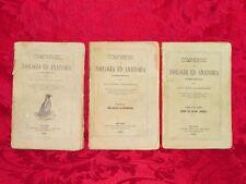 Compendio di Zoologia ed Anatomia Vertebrati Molluschi Giovanni Canestrini 1870
