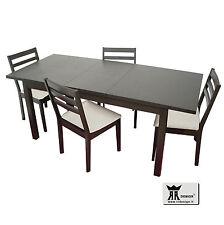 Tavolo allungabile Legno cucina e soggiorno e 4 sedie B