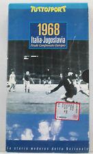 1968 - Italia - Jugoslavia finale Campionato Europeo * Tuttosport VHS come nuova